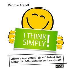 I think simply! von Arendt,  Dagmar