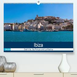 Ibiza Dalt Vila, Sa Penya und La Marina (Premium, hochwertiger DIN A2 Wandkalender 2020, Kunstdruck in Hochglanz) von Wolff,  Alexander