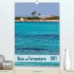 Ibiza und Formentera (Premium, hochwertiger DIN A2 Wandkalender 2021, Kunstdruck in Hochglanz) von Kolfenbach,  Klaus