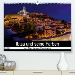 Ibiza und seine Farben (Premium, hochwertiger DIN A2 Wandkalender 2020, Kunstdruck in Hochglanz) von Janssen,  Oliver