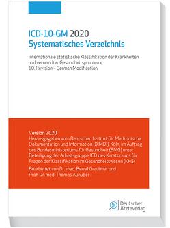 ICD-10-GM 2020 Systematisches Verzeichnis von Auhuber,  Thomas, Graubner,  Bernd