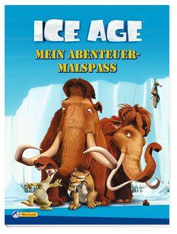 Ice Age Mein Abenteuer-Malbuch von Fox Entertainment Group,  Inc.,  Inc.