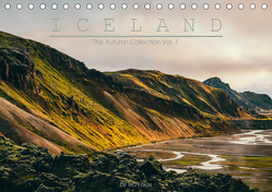 ICELAND – The Autumn Collection Vol. 1 (Tischkalender 2019 DIN A5 quer) von Fokus,  WD