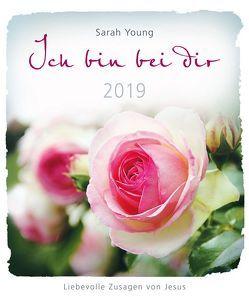 Ich bin bei dir 2019 – Postkartenkalender von Young,  Sarah