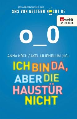Ich bin da, aber die Haustür nicht von Koch,  Anna, Lilienblum,  Axel, Masemann,  Esther