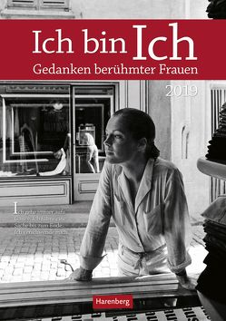 Ich bin Ich – Kalender 2019 von Harenberg, Nadolny,  Susanne