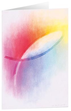 Ich bin immer bei dir – Kunst-Faltkarten ohne Text (5 Stück) von Bahlinger,  Stefanie