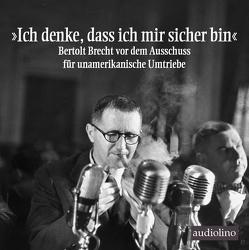 »Ich denke, dass ich mir sicher bin« von Becker,  Rolf, Brecht,  Bertholt, Gerngroß,  Anne, Gussek,  Rainer, Herkenrath,  Lutz, Schad,  Stephan