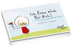 Ich freue mich für dich! – Postkartenbuch von Mercurio,  Royne