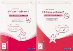 Ich kann rechnen 1 und 2 – Ausgabe in A4 – Schülerarbeitshefte für die 1. Klasse von Langhans,  Katrin