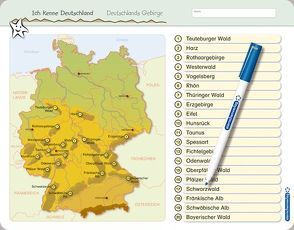 Ich kenne Deutschland – Deutschlands Gebirge von Langhans,  Katrin
