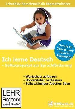 Ich lerne Deutsch – Softwarepaket zur Sprachförderung von Heim,  Evelyn