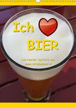 Ich liebe Bier (Wandkalender 2019 DIN A3 hoch) von www.IchliebeBier.at