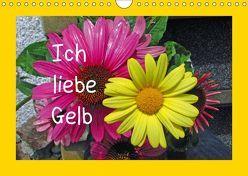 Ich liebe Gelb (Wandkalender 2019 DIN A4 quer)