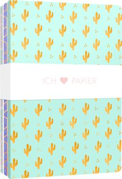 Ich liebe Papier – 3 Notizhefte DIN A6