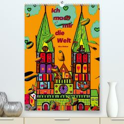 Ich mach mir die Welt – Popart von Nico Bielow (Premium, hochwertiger DIN A2 Wandkalender 2021, Kunstdruck in Hochglanz) von Bielow,  Nico