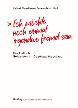 Ich möchte noch einmal irgendwo fremd sein von Helmut Neundlinger,  Fermin Suter