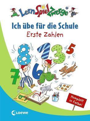 Ich übe für die Schule – Erste Zahlen von Carstens,  Birgitt, Kalwitzki,  Sabine