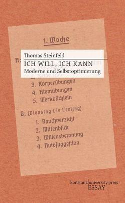 Ich will, ich kann von Steinfeld,  Thomas