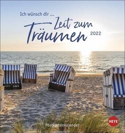 Ich wünsch dir … Zeit zum Träumen Postkartenkalender 2022 von Heye