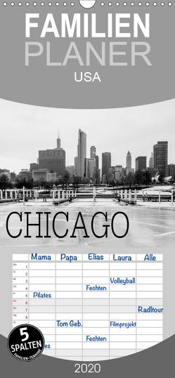 Icy Chicago – Familienplaner hoch (Wandkalender 2020 , 21 cm x 45 cm, hoch) von Stein,  David
