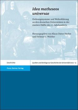 """""""Idea matheseos universae"""" von Herbst,  Klaus-Dieter, Walther,  Helmut G"""