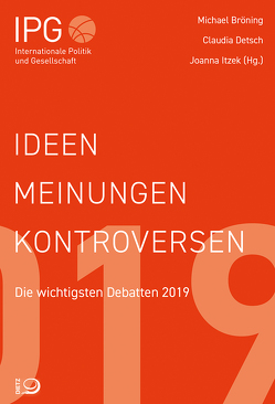 Ideen, Meinungen, Kontroversen von Bröning,  Michael, Detsch,  Claudia, Itzek,  Joanna