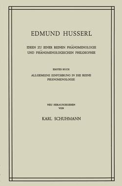Ideen zu Einer Reinen Phänomenologie und Phänomenologischen Philosophie von Huss