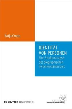Identität von Personen von Crone,  Katja
