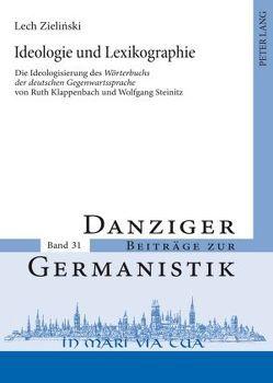 Ideologie und Lexikographie von Zielinski,  Lech
