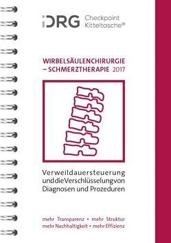 iDRG Checkpoint Kitteltasche Wirbelsäulenchirurgie-Schmerztherapie