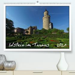 Idstein im Taunus (Premium, hochwertiger DIN A2 Wandkalender 2021, Kunstdruck in Hochglanz) von Wolf,  Gerald