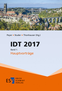 IDT 2017 von Peyer,  Elisabeth, Studer,  Thomas, Thonhauser,  Ingo