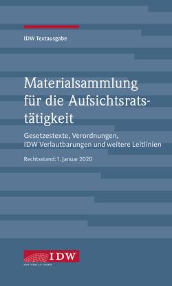 IDW, Materialsammlung für die Aufsichtsratstätigkeit