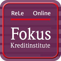 IDW Rechnungslegung Online – Fokus Kreditinstitute von IDW Verlag