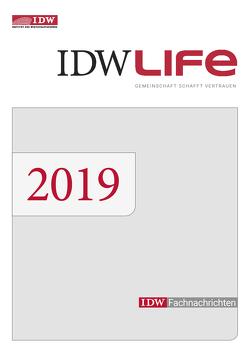 IDWLife, Einbanddecke 2019