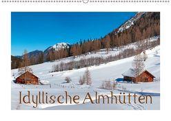 Idyllische Almhütten (Wandkalender 2019 DIN A2 quer) von Kramer,  Christa