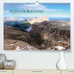 Idyllische Dolomiten (Premium, hochwertiger DIN A2 Wandkalender 2020, Kunstdruck in Hochglanz) von Albicker,  Gerhard