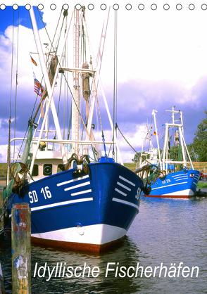 Idyllische Fischerhäfen (Tischkalender 2020 DIN A5 hoch) von Reupert,  Lothar