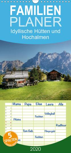 Idyllische Hütten und Hochalmen – Familienplaner hoch (Wandkalender 2020 , 21 cm x 45 cm, hoch) von - Uwe Vahle,  Kordula