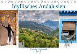 Idyllisches Andalusien (Tischkalender 2019 DIN A5 quer) von Dürr,  Brigitte