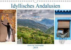 Idyllisches Andalusien (Wandkalender 2019 DIN A4 quer) von Dürr,  Brigitte