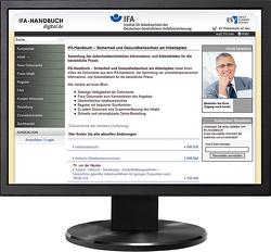 IFA-Handbuch – Sicherheit und Gesundheitsschutz am Arbeitsplatz – Jahresabonnement von Ellegast,  R. P., Reinert,  D.