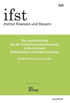 ifst-Schrift 529 von Salder,  Christian
