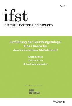 ifst-Schrift 532 von Haase,  Kerstin, Kuen,  Kristian, Nonnenmacher,  Roland