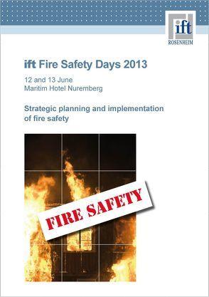ift-Brandschutztage 2013 von ift Rosenheim GmbH