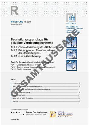 ift-Richtlinien – Gesamtausgabe gültiger ift-Richtlinien von ift Rosenheim GmbH