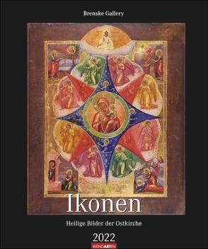 Ikonen Kalender 2022 von Gallery,  Brenske, Weingarten