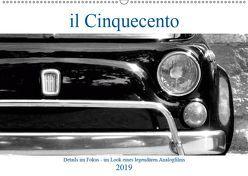 il Cinquecento – Details im Fokus – im Look eines legendären Analogfilms (Wandkalender 2019 DIN A2 quer) von Eisold,  Hanns-Peter