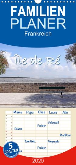 Île de Ré – Familienplaner hoch (Wandkalender 2020 , 21 cm x 45 cm, hoch) von Rütten,  Kristina